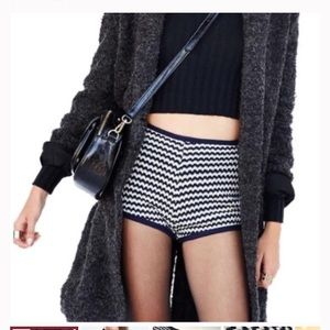 Cooperative knitted hot pants Urban Outfitters